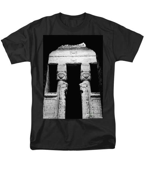 Temple Of Hathor T-Shirt by Photo Researchers, Inc.