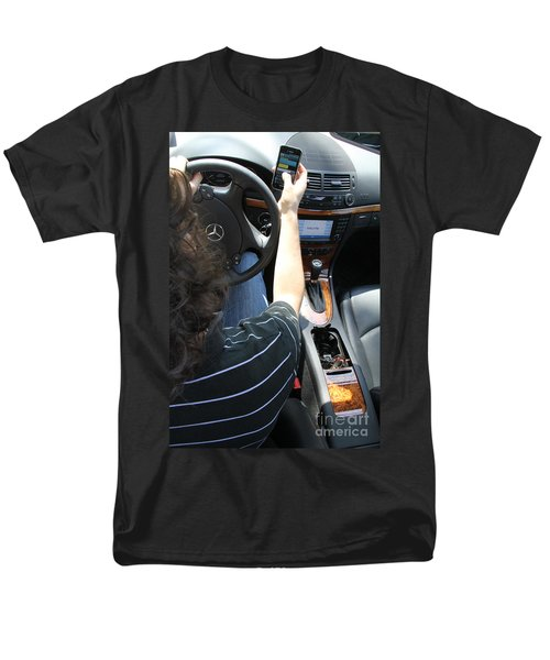 Texting And Driving T-Shirt by Photo Researchers, Inc.