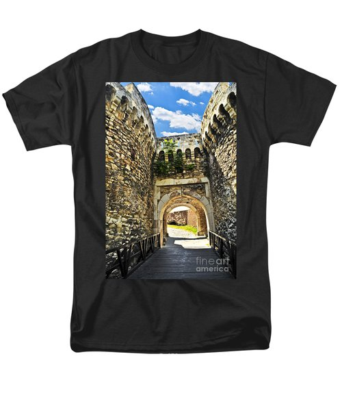 Kalemegdan fortress in Belgrade T-Shirt by Elena Elisseeva