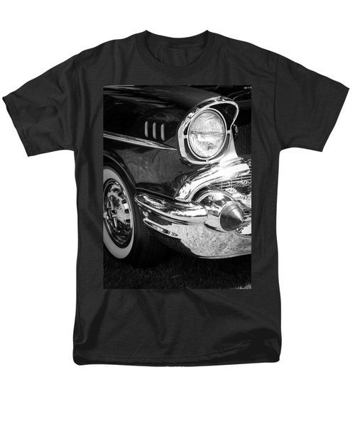 57 Chevy Black T-Shirt by Steve McKinzie