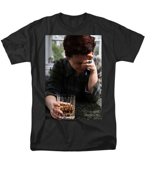 Depression And Addiction T-Shirt by Photo Researchers, Inc.