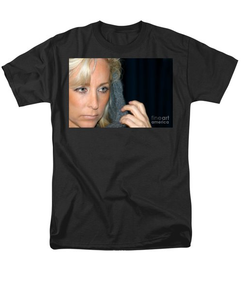 Blond Woman T-Shirt by Henrik Lehnerer