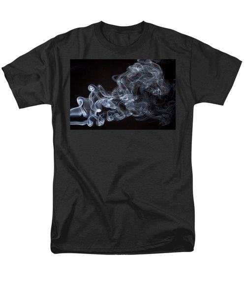 Abstract smoke running horse T-Shirt by Setsiri Silapasuwanchai