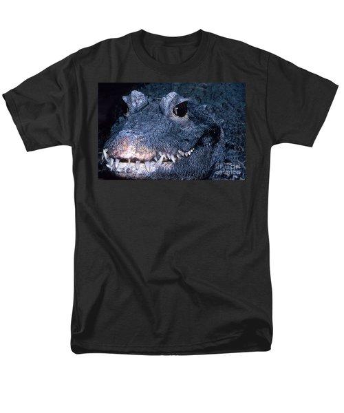African Dwarf Crocodile Men's T-Shirt  (Regular Fit) by Dante Fenolio