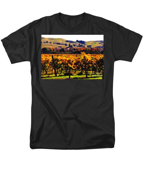 Autumn in the Valley 2 - Digital Painting T-Shirt by Carol Groenen