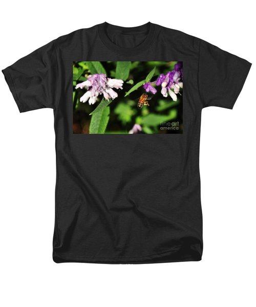 Bee in Flight T-Shirt by Kaye Menner