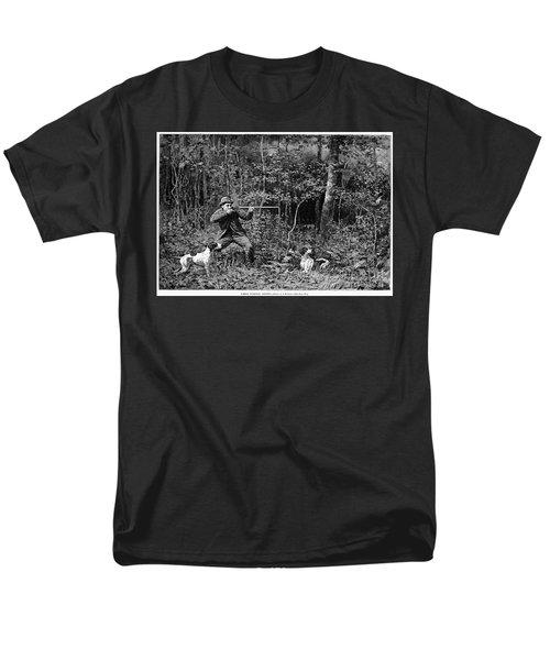 Bird Shooting, 1886 Men's T-Shirt  (Regular Fit) by Granger