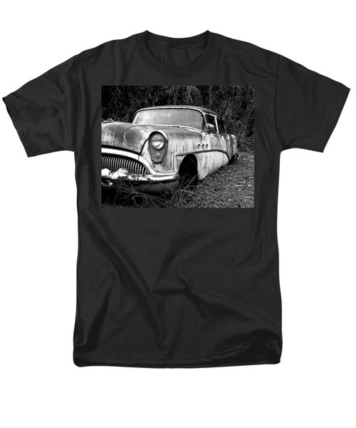 Black and White Buick T-Shirt by Steve McKinzie