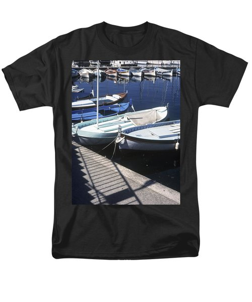 Boats In Harbor T-Shirt by Axiom Photographic