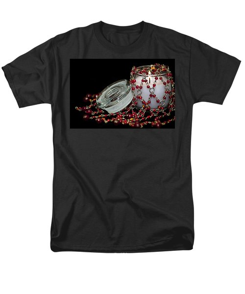 Candle and Beads T-Shirt by Carolyn Marshall