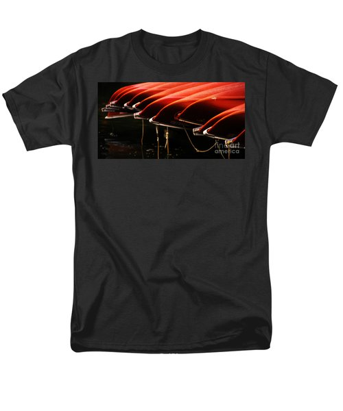 Canoes Of Red T-Shirt by Bob Christopher