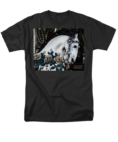 Carousel Horse - 8 T-Shirt by Paul Ward