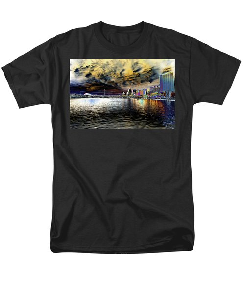 City Of Color Men's T-Shirt  (Regular Fit) by Douglas Barnard