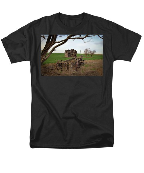 Country Home and Wagon T-Shirt by Athena Mckinzie