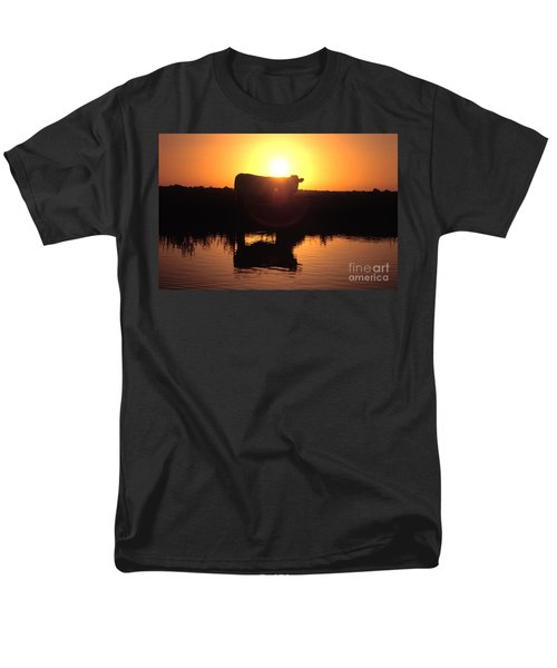 Cow at Sundown T-Shirt by Picture Partners and Photo Researchers