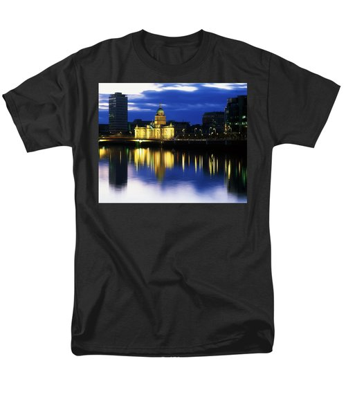 Customs House And Liberty Hall, River T-Shirt by The Irish Image Collection