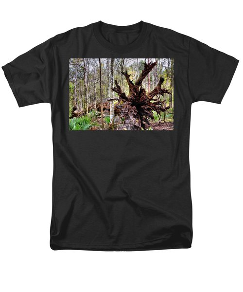 Cypress Roots T-Shirt by Kristin Elmquist