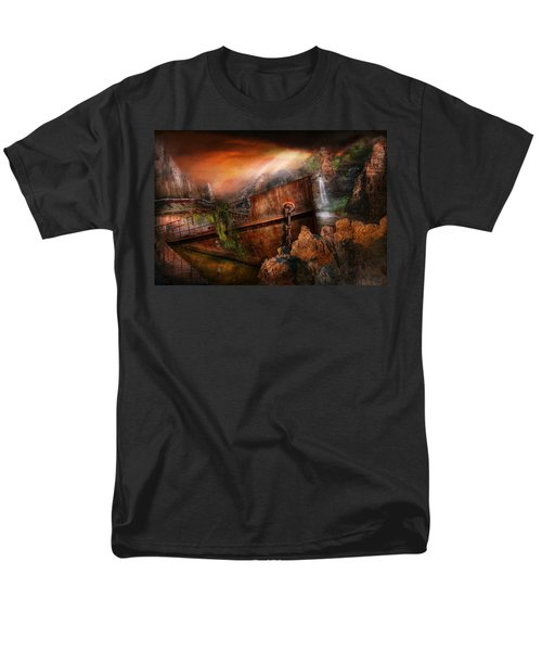 Fantasy - Ship Wrecked T-Shirt by Mike Savad