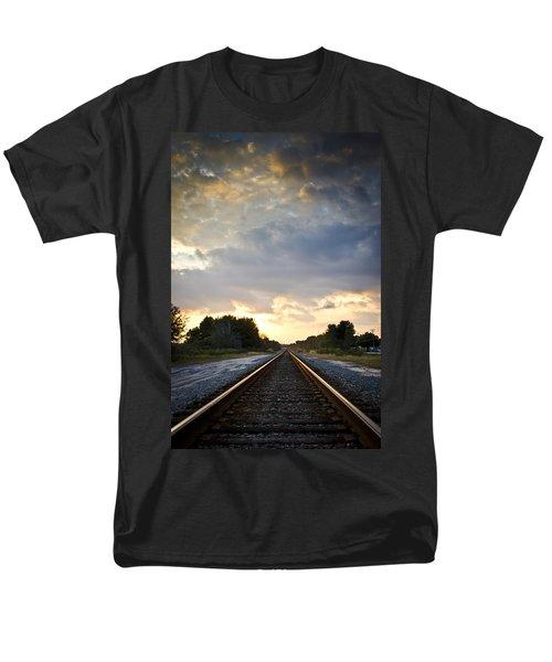 Follow the Tracks T-Shirt by Carolyn Marshall