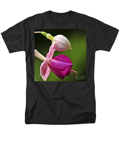 Fuchsia flower T-Shirt by Elena Elisseeva