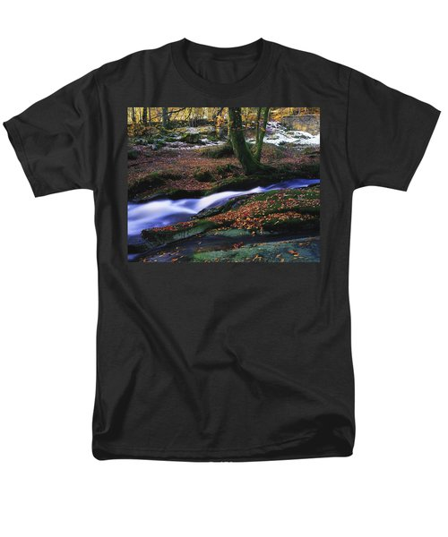 Glenmacnass Waterfall, Co Wicklow T-Shirt by The Irish Image Collection