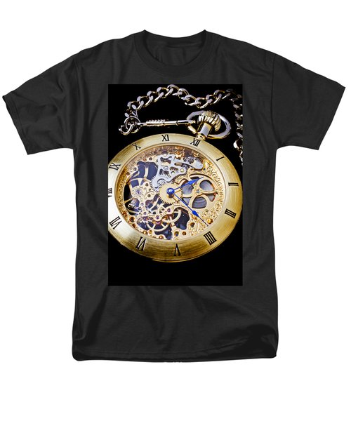 Gold Pocket Watch T-Shirt by Garry Gay