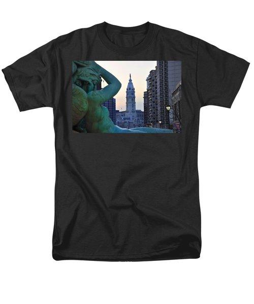 Good Morning Philadelphia T-Shirt by Bill Cannon