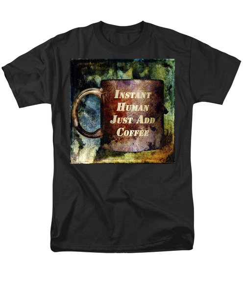 Gritty Instant Human T-Shirt by Angelina Vick