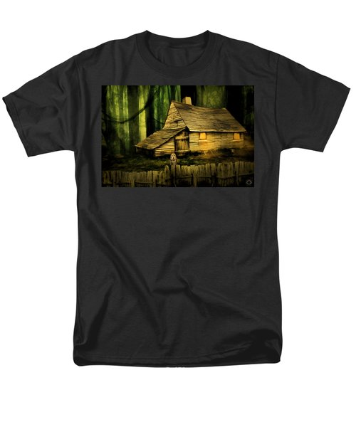 Haunted Shack T-Shirt by Lourry Legarde
