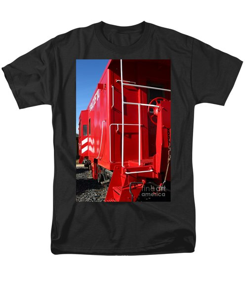 Historic Niles District in California Near Fremont . Western Pacific Caboose Train . 7D10622 T-Shirt by Wingsdomain Art and Photography