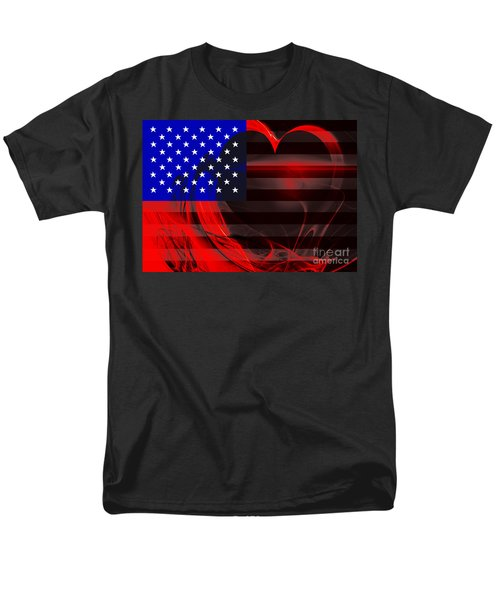 I Love America T-Shirt by Wingsdomain Art and Photography