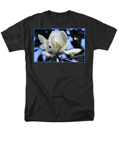 Magnolia in Blue T-Shirt by Carol Groenen