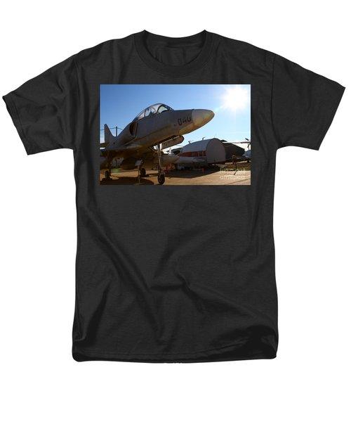McDonnell Douglas TA-4J Skyhawk Aircraft Fighter Plane . 7D11302 T-Shirt by Wingsdomain Art and Photography