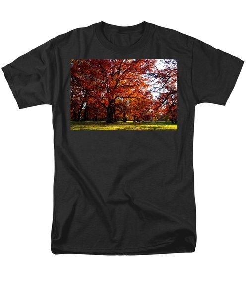 Morton Arboretum in colorful fall T-Shirt by Paul Ge