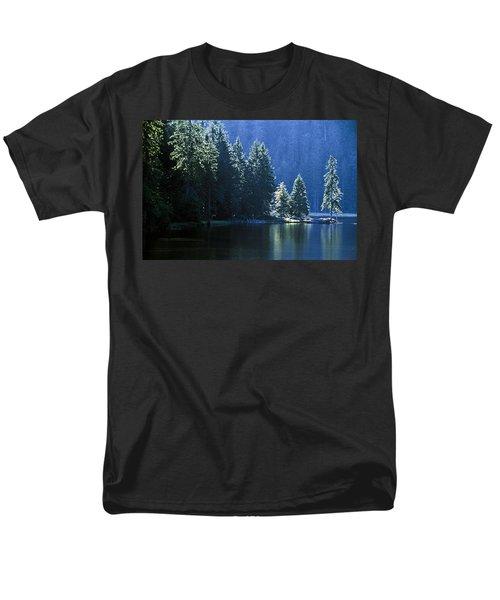 Mountain Lake In Arbersee, Germany T-Shirt by John Doornkamp