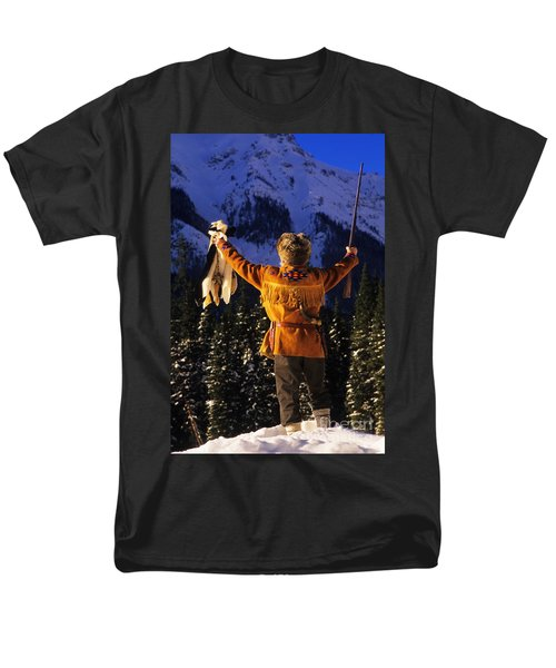 Mountain Man 1 T-Shirt by Bob Christopher