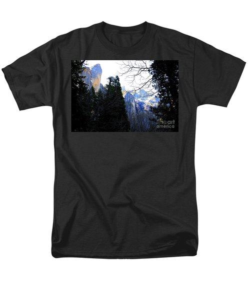 Mountains of Yosemite . 7D6213 T-Shirt by Wingsdomain Art and Photography