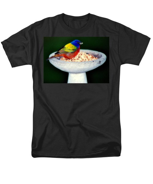 My Painted Bunting T-Shirt by KAREN WILES