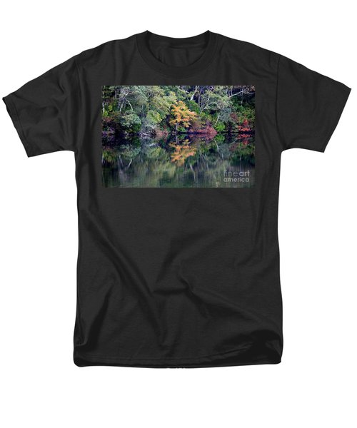 New England Fall Reflection T-Shirt by Carol Groenen