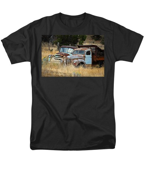 Old Farm Trucks T-Shirt by Steve McKinzie