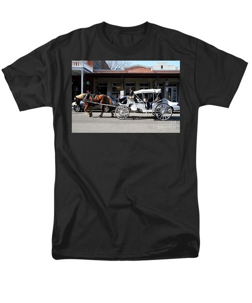 Old Sacramento California . Horse Drawn Buggy . 7D11482 T-Shirt by Wingsdomain Art and Photography
