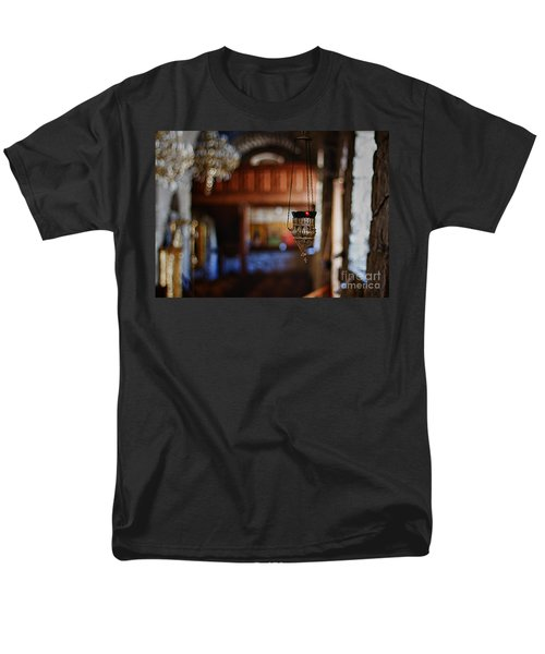 orthodox church oil candle T-Shirt by Stylianos Kleanthous