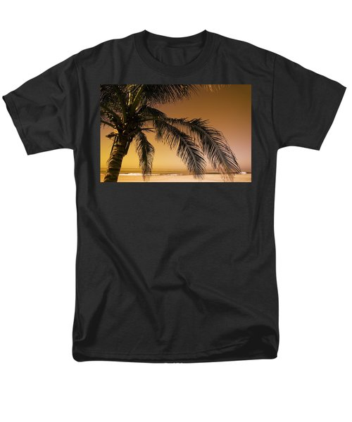 Palm Tree And Sunset In Mexico T-Shirt by Darren Greenwood
