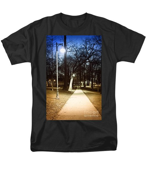 Park path at night T-Shirt by Elena Elisseeva