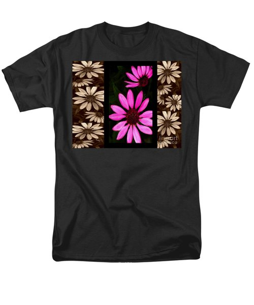 Petal Collage T-Shirt by Cheryl Young