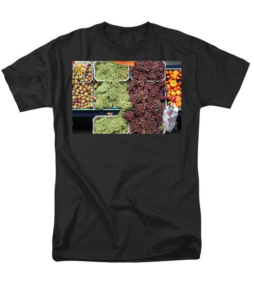 Pluots Grapes and Tomatoes - 5D17903 T-Shirt by Wingsdomain Art and Photography