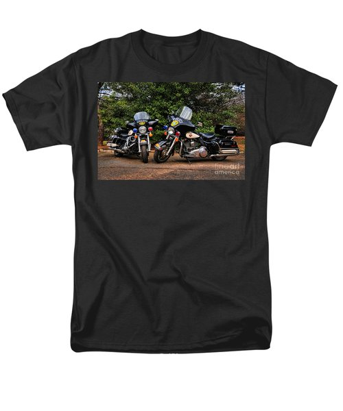 Police Motorcycles T-Shirt by Paul Ward