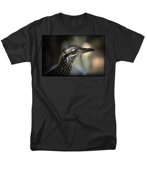 Portrait Of A Roadrunner  Men's T-Shirt  (Regular Fit) by Saija  Lehtonen