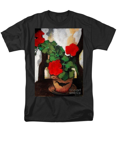 RED GERANIUM T-Shirt by MONA EDULESCO