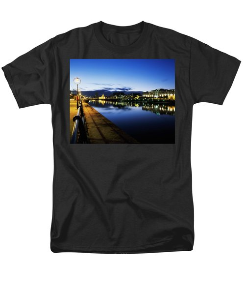 River Liffey, Sunset, View Of Customs T-Shirt by The Irish Image Collection
